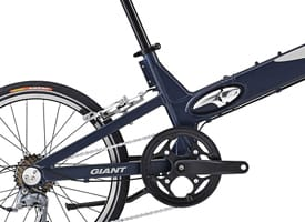 Folding - Folding bikes are becoming an increasingly popular and practical cycling alternative. You can fold it up on the train or bus, making your daily commute so much easier. The latest range of folding bikes are lightweight, compact and with easy-to-use folding mechanisms, and the plethora of types and brands means you can choose from folding mountain bikes, hybrids or regular, small-wheeled cycles.