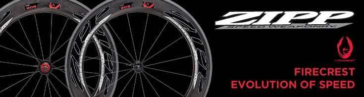 Zipp - Zipp Cycle Components is the producer of wheels, handlebars, cranks and cycle accessories, and is part of the growing SRAM group. Made up of some of the brightest minds from the aerospace, Formula 1 and even chemical engineering fields, the company owns three aerodynamic rim shape patents, as well as producing highly aerodynamic cranks and road bars.