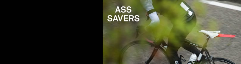 Ass Savers - Ass Savers are five designers based out of Gothenburg, arguably the wettest city in all of Sweden. Their mission is to create products to celebrate and encourage the joy of biking. It is also their belief that we have an obligation to design responsibly to protect the environment as much as we can. That's why you won't find nasty materials or unnecessary packaging on any Ass Savers product.