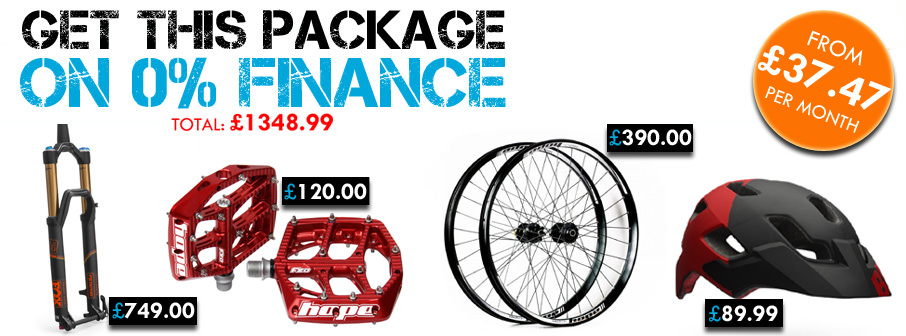 Bike Finance Selection